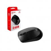 Mouse Sem Fio C3Plus M-W17 Azul Preto Vermelho