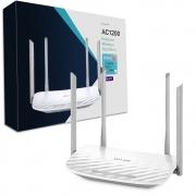 Roteador Dual Band TP-Link AC1200 Archer C50 300Mbps 6 Portas 4 Antenas