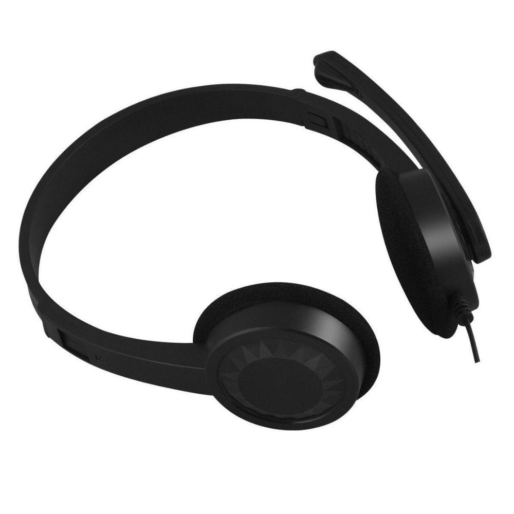 Headset C3Tech Plus PH-02BK P2 Preto 2m de Cabo