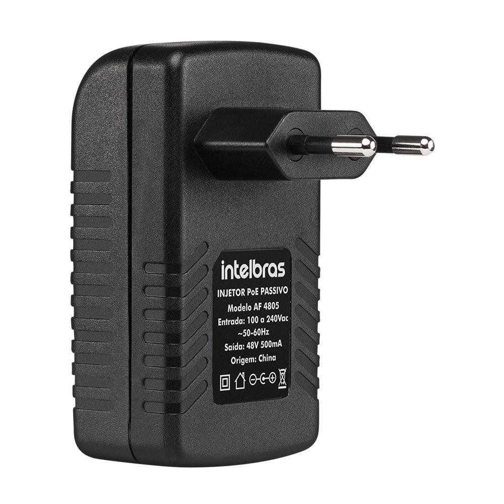 Injetor Poe Passivo Fast Ethernet Af 4805 4700018 Intelbras