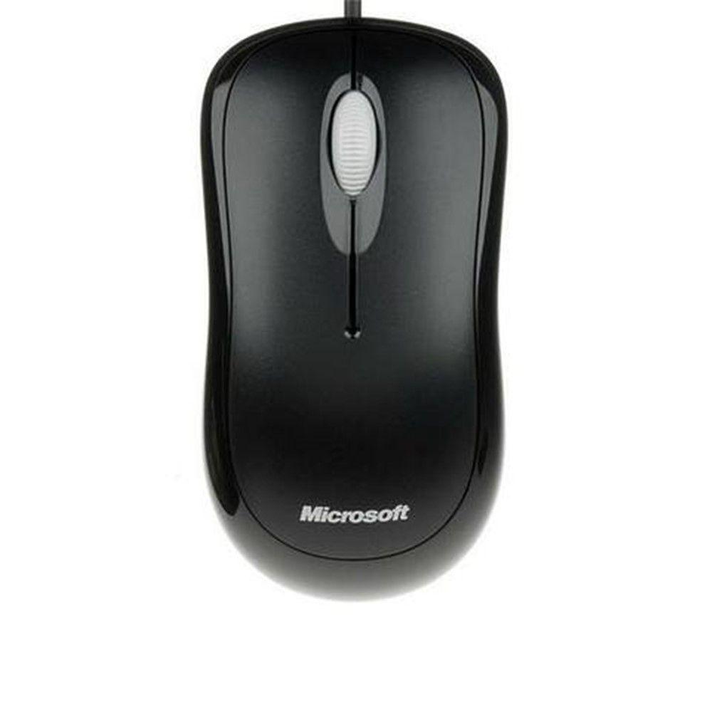 Kit Teclado Microsoft + Mouse Basic Óptico Wired Desktop 600 Black APB-00005