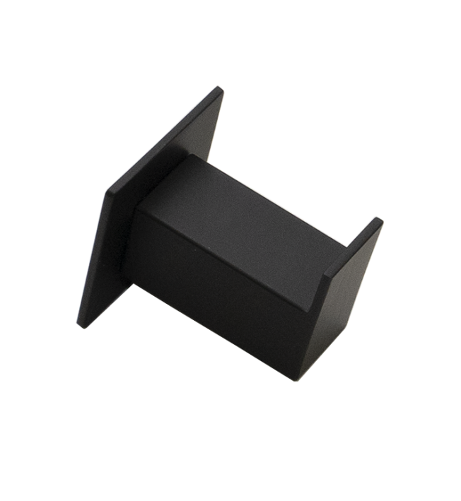 Cabide Steel Inox Preto Fosco