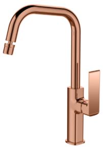 Torneira Misturador Monocomando Lexxa LX-2179RG latao Rose Gold