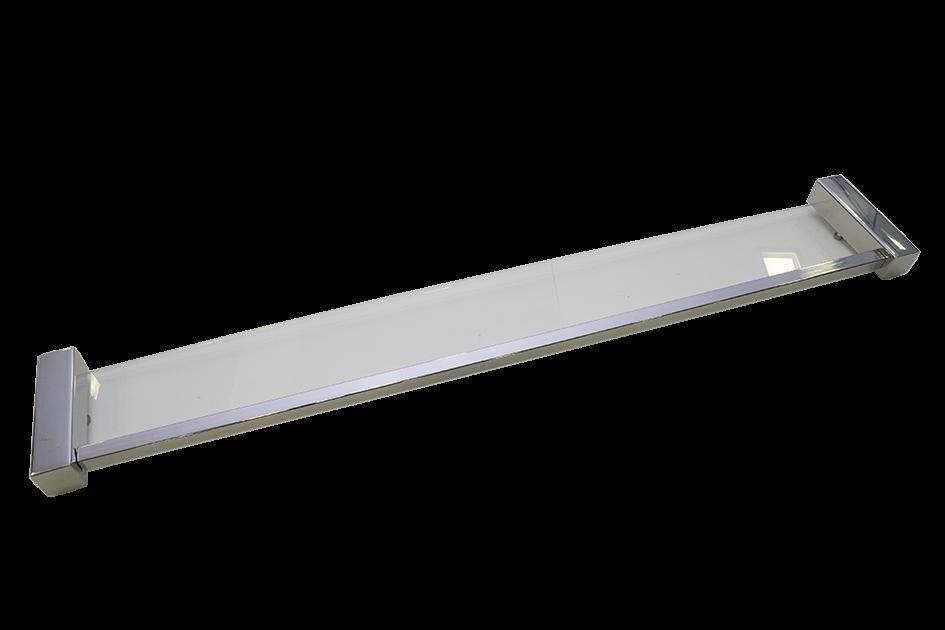 Prateleira Ilheus Inox 630mm Polida