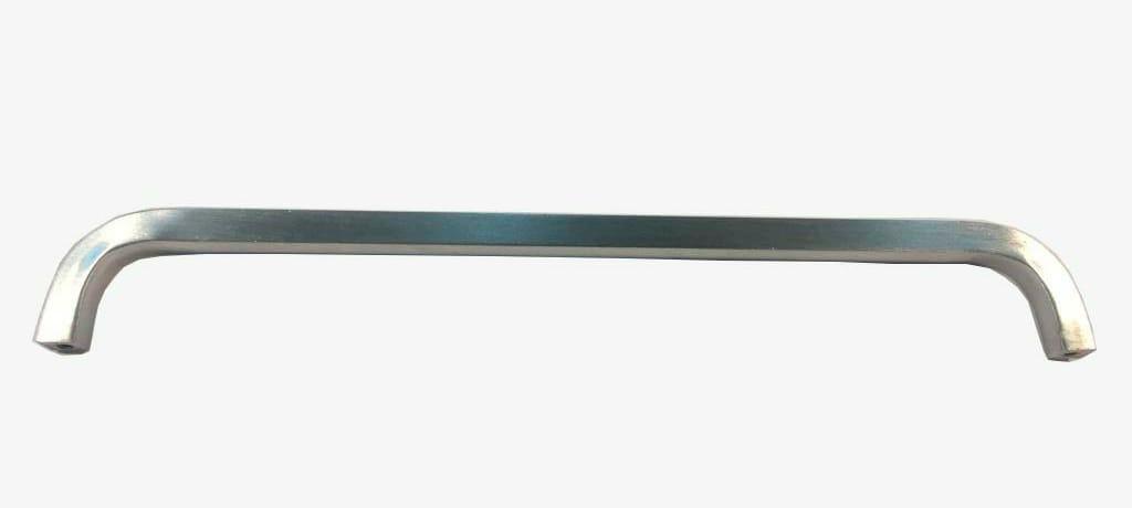 Puxador p/ armario 400mm Aluminio Escovado (JG.C/10 PC)
