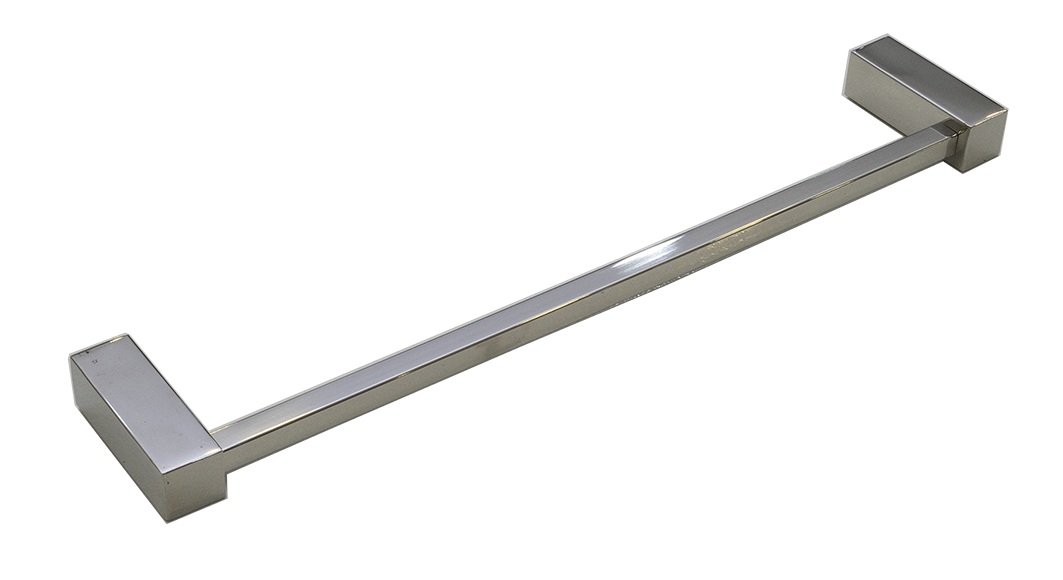 Toalheiro Ilheus 100% Inox 304 Polido 400mm