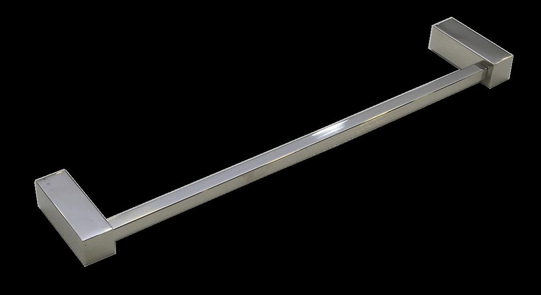 Toalheiro Ilheus Inox Polido 600mm
