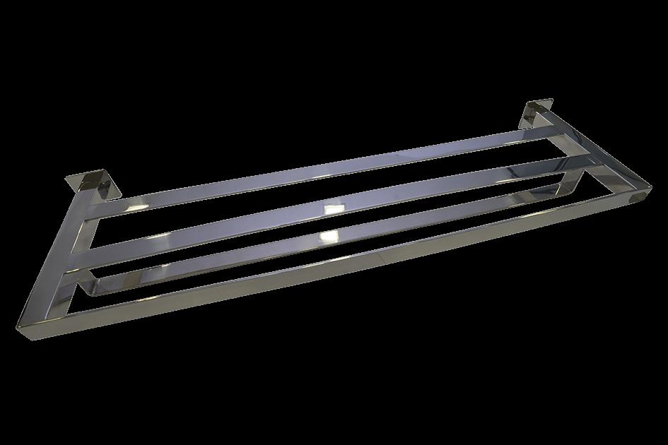 Toalheiro Rack  Steel 100% Inox 304  Polido 600mm