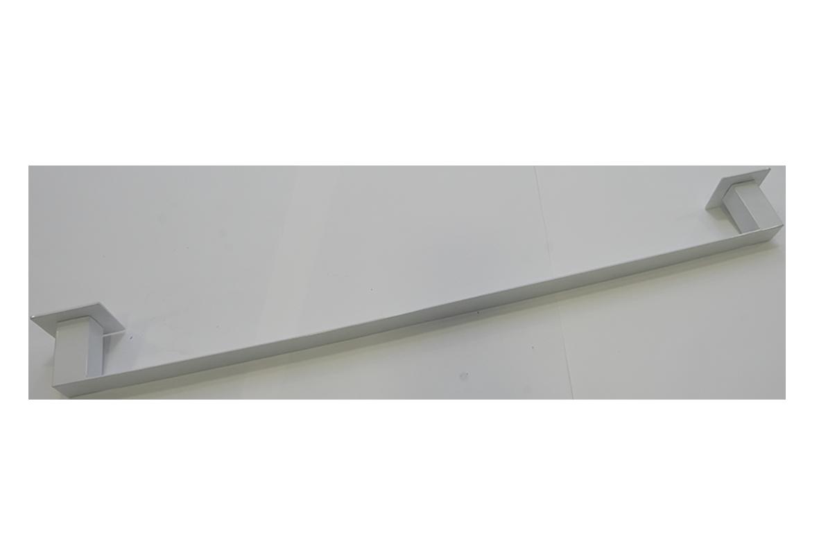 Toalheiro Steel 100% Inox 304 branco 700mm