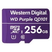 Cartão Micro SD 256GB WD Purple Western digital Intelbras