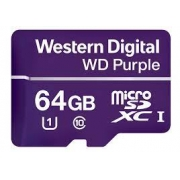 Cartão Micro SD 64GB WD Purple Western digital Intelbras