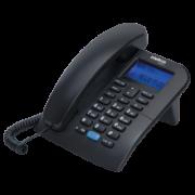 Telefone Intelbras TC 60 ID  com Fio Preto