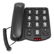 Telefone Intelbras Tok Facil com fio com teclas grandes
