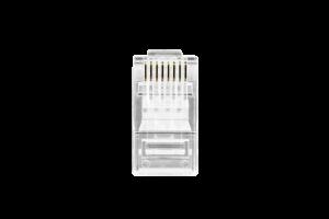 Conector RJ45 Cat5e Intelbras com 50 unidades