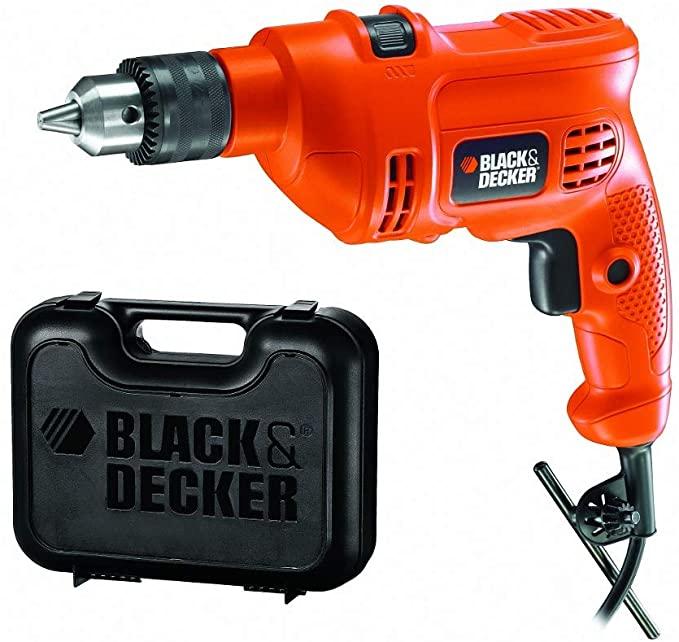 Furadeira De Impacto Black & Decker 3/8 560w 127V Standard Com Maleta