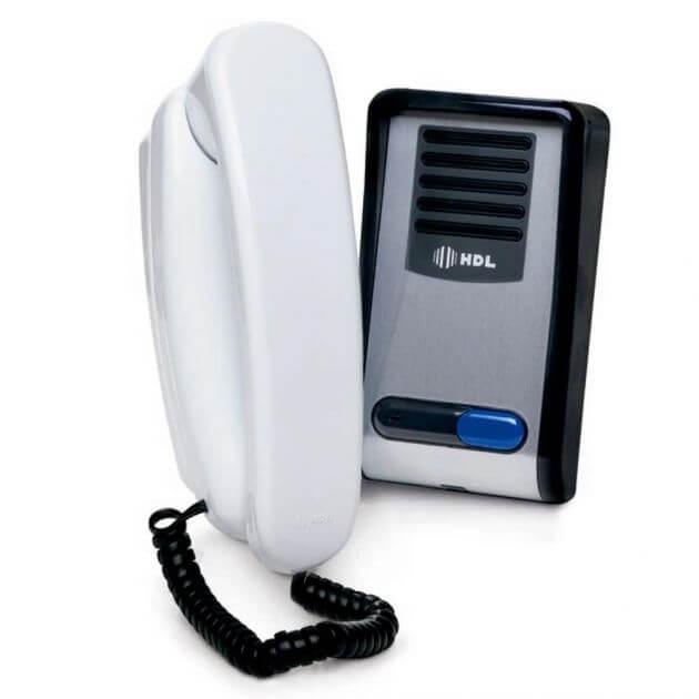 Porteiro Eletrônico Residencial HDL F8-SNTL Com Interfone