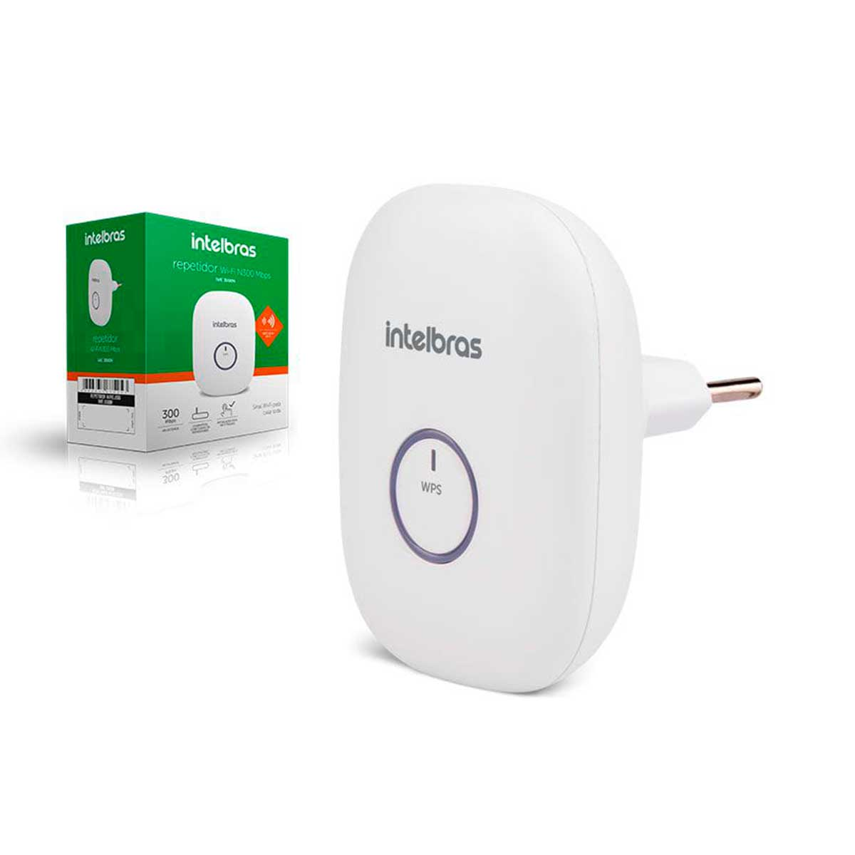 Repetidor De Sinal Internet Wi-Fi Wireless Intelbras IWE 3000N