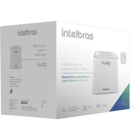 Roteador Wireless Intelbras Twibi Fast Wi-Fi 5 Mesh