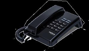 Telefone Intelbras Premium TC 50 com Fio Preto