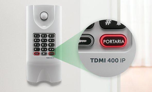 Telefone Terminal dedicado IP Intelbras TDMI 400