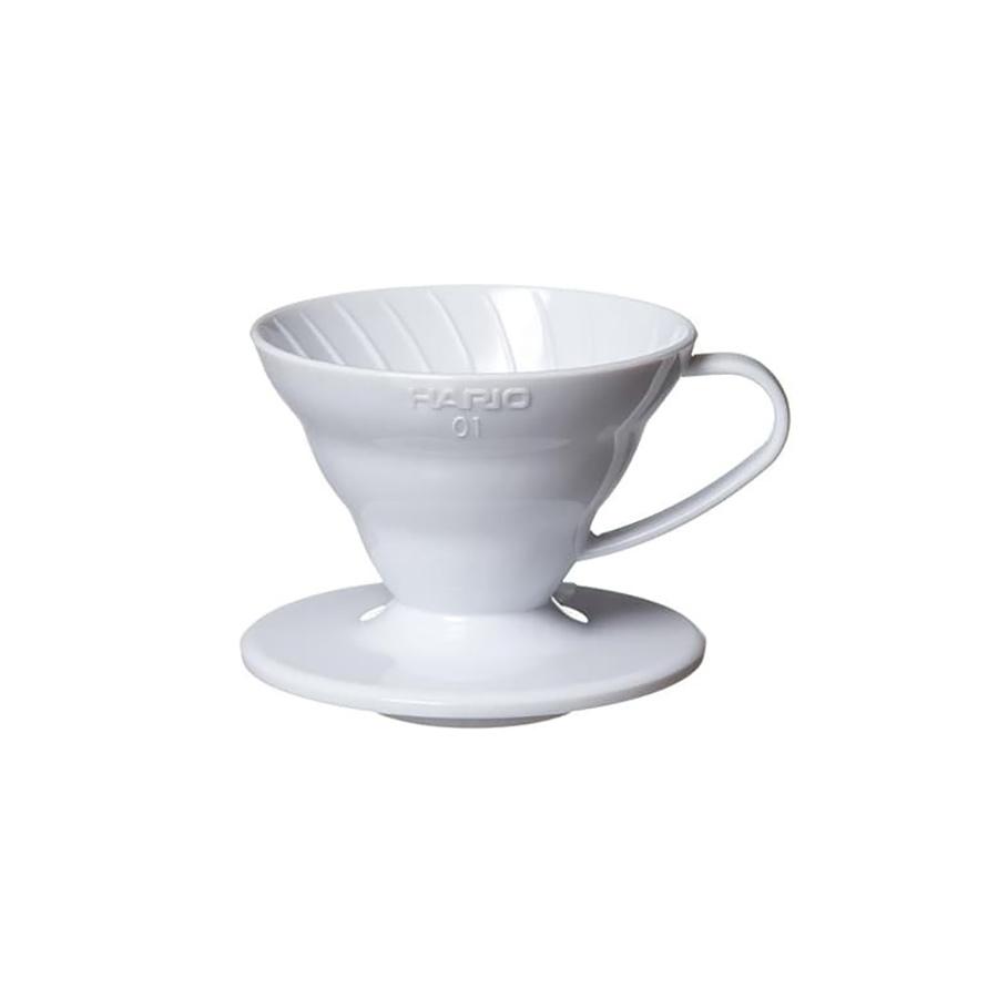 SUPORTE PARA FILTRO DE CAFE HARIO MOD V60-01 BRANCO