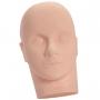 Cabeça de boneca em silicone para Treino Alongamento Cílios Maquiagem