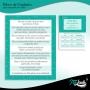 Bloco de Cuidados e Agendamentos para Alongamento de Cílios