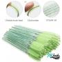 Escovinha Gliter descartável para cílios em nylon 50un