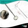 Espelho precisão para alongamento de cílios inox