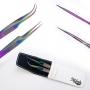 Kit pinças Italash Multicolor C1 com estojo - MUL1