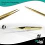Pinça Italash G-23 Alongamento De Cílios - Reta 12cm