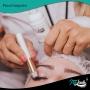 Pincel para limpeza extensão de cílios sobrancelhas