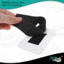Placa Paleta de mão para suporte de cílios com alça removível
