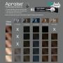 Tinta Apraise Preto 1.0 para Cílios e Sobrancelhas 20ml
