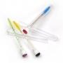 Tubete com Escovinha gliter para cliente alongamento cílios
