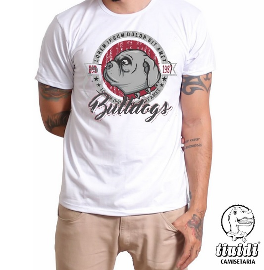 Camiseta Tiuidi Bulldog