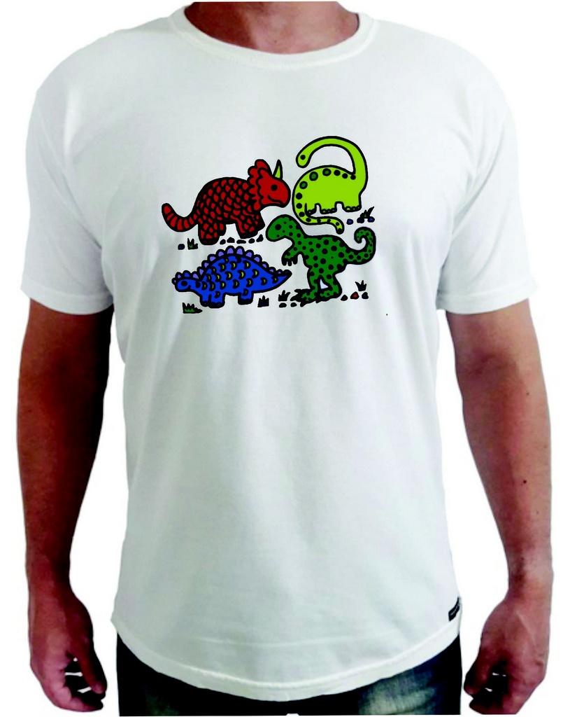 Camiseta Tiuidi Dino Divertido
