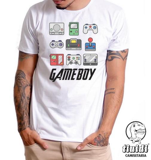 Camiseta Tiuidi Game Boy