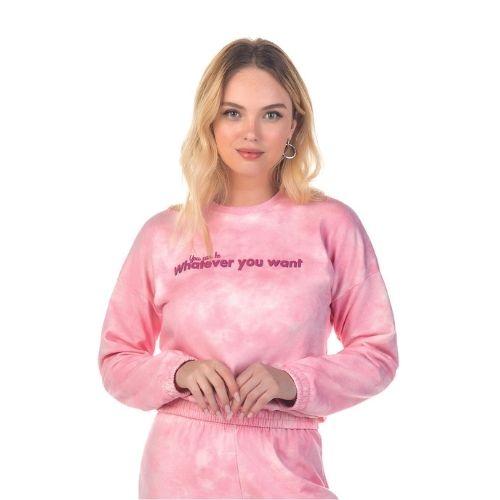 Blusão  Feminino Tie Dye