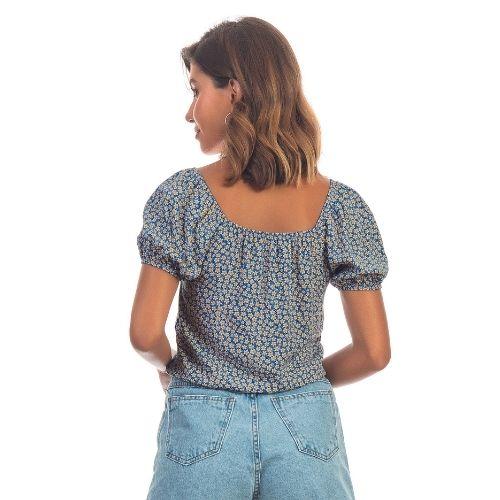 Blusinha Estampada em Viscose
