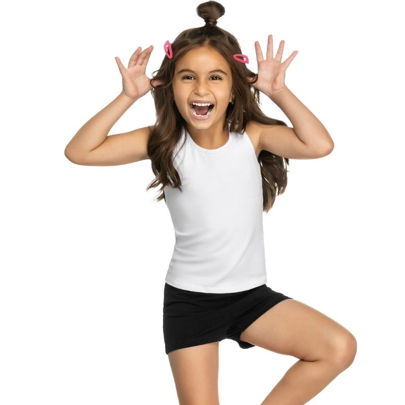 Shorts Infantil Cotton Lecimar