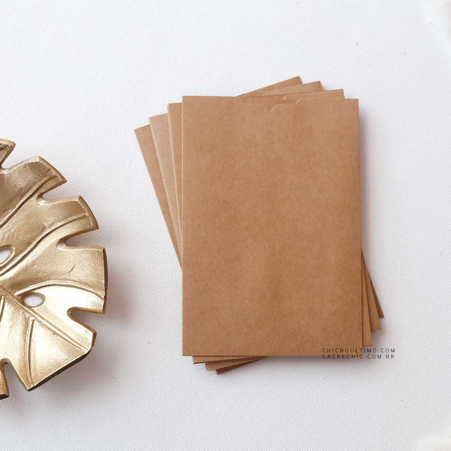 Envelope Kraft - Luva P 14,5X21cm