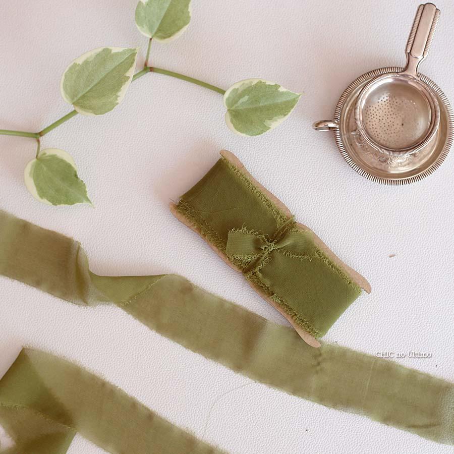 Fita Rústica - cor Verde Oliva
