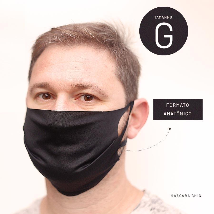 Máscara de Proteção Tecido Lavável - Kit 10 un