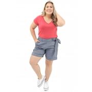 Blusa Lepoque Plus Size Viscolycra (Tijolo)