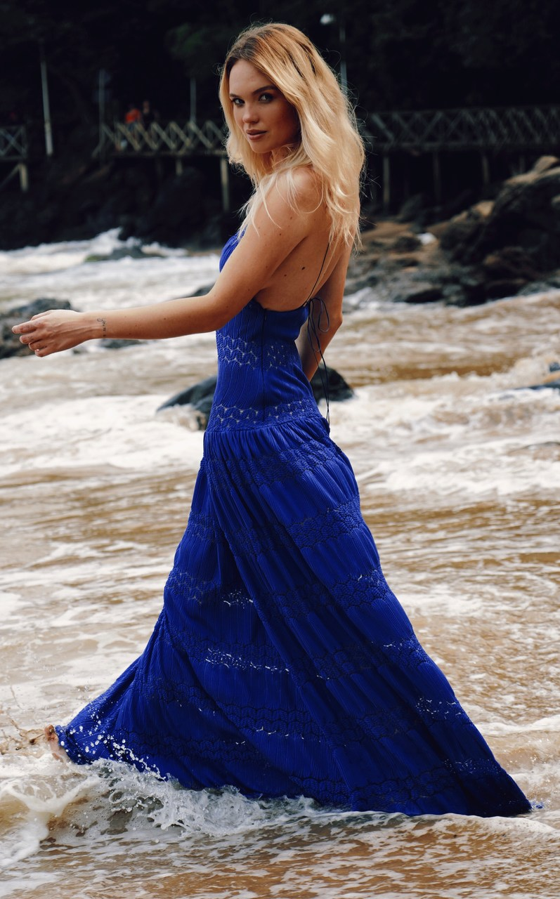 Vestido Longo Almadine