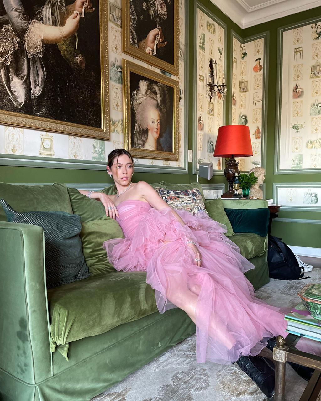 Vestido Longo Versailles