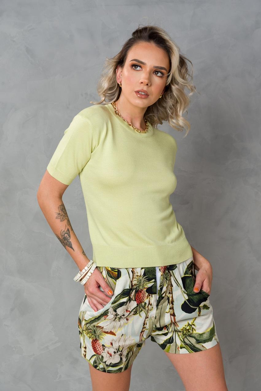 Shorts Lírio