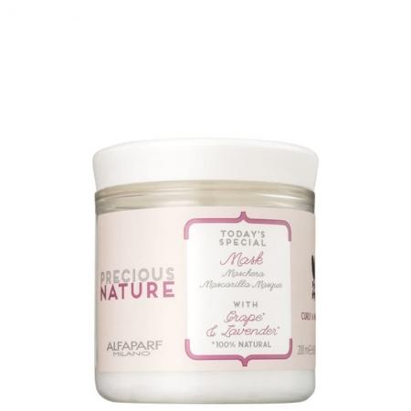 Alfaparf Precious Nature Grape e Lavender Mask - Máscara de Tratamento Capilar 200g