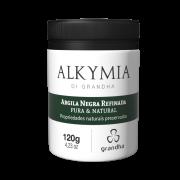 Argila Negra Refinada Pura & Natural Alkymia Di Grandha - 120gr
